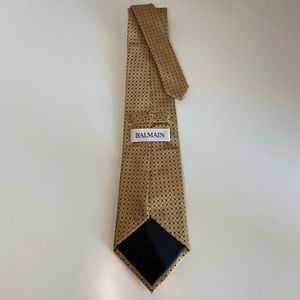 NWOT Balmain Silk Tie